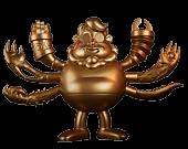 """Guillermo del Toro - Guru Del Toro: Maestro of Monsters 7"""" Vinyl Figure by Chogrin"""