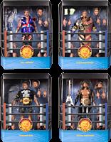 "New Japan Pro-Wrestling - Wave 1 Ultimates! 7"" Scale Action Figure Assortment (Set of 4)"