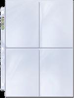 Ultra Pro - 4 Pocket Page (3.5 x 5.25) (Single Unit)