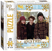 Harry Potter - Christmas at Hogwarts 550 Piece Jigsaw Puzzle