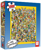 The Simpsons - Casting Call 1000 Piece Jigsaw Puzzle