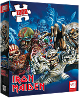Iron Maiden - The Faces of Eddie 1000 Piece Jigsaw Puzzle