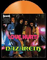 "Nazareth - Love Hurts 10"" Split Single Vinyl Record (2020 Record Store Day Exclusive Orange Coloured Vinyl)"