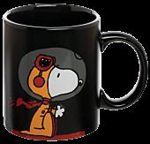 Peanuts - NASA Snoopy Heat Changing Ceramic Mug