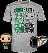 Ghostbusters - Dr. Peter Venkman with Slime Pop! Vinyl Figure & T-Shirt Box Set