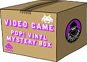 Funko Poplandia Mystery Box - Video Games (Box of 6 Mystery Pop! Vinyl Figures)