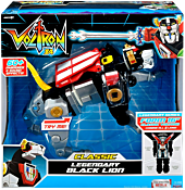 "Voltron 84 - Legendary Black Lion Deluxe 6"" Action Figure."