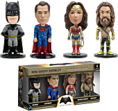Batman vs Superman: Dawn of Justice 4-Pack Box Set of Mini Wacky Wobbler Bobble Heads