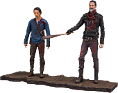 "The Walking Dead - Negan and Glenn Deluxe 5"" Action Figure 2-Pack"