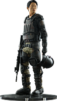 The Walking Dead - Glenn in Riot Gear Statue Main Image