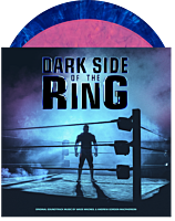 Dark Side of the Ring - Original Music Soundtrack by Wade MacNeil & Andrew Gordon Macpherson 2xLP Vinyl Record (Pink with Purple Smoke & Blue with White Smoke Coloured Vinyl)