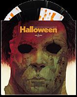 Halloween (2007) - Original Motion Picture Soundtrack by Rob Zombie & Tyler Bates 2xLP Vinyl Record (Black & Crystal Clear Striped Vinyl with Pumpkin Orange Splatter)