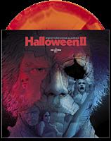 "Halloween II (2009) - Original Motion Picture Soundtrack by Rob Zombie & Tyler Bates LP Vinyl Record (""Pumpkin"" Orange, ""Candy Apple"" Red, & Magenta Swirled Coloured Vinyl)"