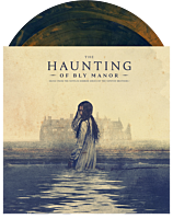"""The Haunting of Bly Manor - Music From The Netflix Horror Series Soundtrack by The Newton Brothers 2xLP Vinyl Record (""""Lady in the Lake"""" Rust & Deep Blue Swirled Coloured Vinyl)"""