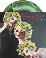 """Queen of Earth - Original Motion Picture Score by Keegan DeWitt LP Vinyl Record (""""The Lake"""" Green Swirl with Gold Splatter Coloured Vinyl)"""