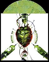 "Bride Of Re-Animator - Original Motion Picture Soundtrack by Richard Band 2xLP Vinyl Record (""Re-Agent"" Coloured Vinyl)"