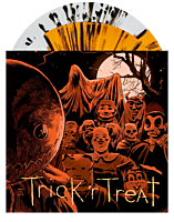 "Trick 'r Treat - Original Motion Picture Soundtrack by Douglas Pipes 2xLP Vinyl Record (""Jack 'o Lantern"" Orange & Crystal Clear with Black Splatter Split Coloured Vinyl)"