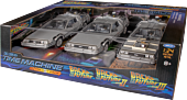Back to the Future - DeLorean 1/24th Die-Cast Trilogy (Set of 3)