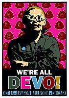 Devo - We're All Devo! Aragon Ballroom, Chicago Art Print by Daymon Greulich