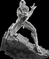 "Spider-Man - Spider-Man Webslinger 5"" Pewter Statue | Popcultcha"