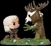 The Witcher 3: Wild Hunt - Geralt vs Leshen Game Moments Funko Pop! Vinyl Figure 2-Pack
