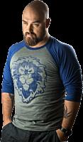 World of Warcraft - Alliance 3/4 Sleeve Male Raglan Shirt Main Image Robin Ricketts