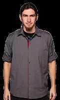 Diablo 3 - Woven Charcoal Shirt (Unisex)
