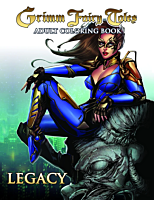 Grimm Fairy Tales - Legacy Adult Colouring Book Paperback
