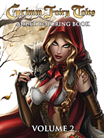 Grimm Fairy Tales - Adult Colouring Book Volume 02 Paperback