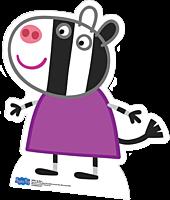 Peppa Pig - Zoe Zebra Cut Out Standee